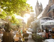 Foto impressie van een zonnig Jazz Festival